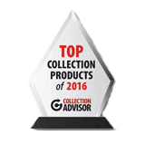 Image is a Top Collection Products of 2016 trophy from Collection Adviser and awarded Simplicity.